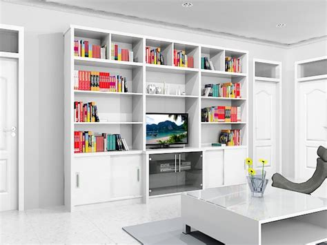 rak buku  rak tv dian interior design
