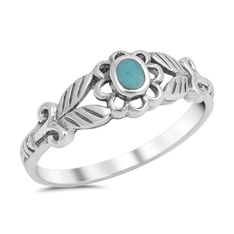 925 Sterling Silver Leaf Ring leaf ring new 925 sterling silver flower cutout band