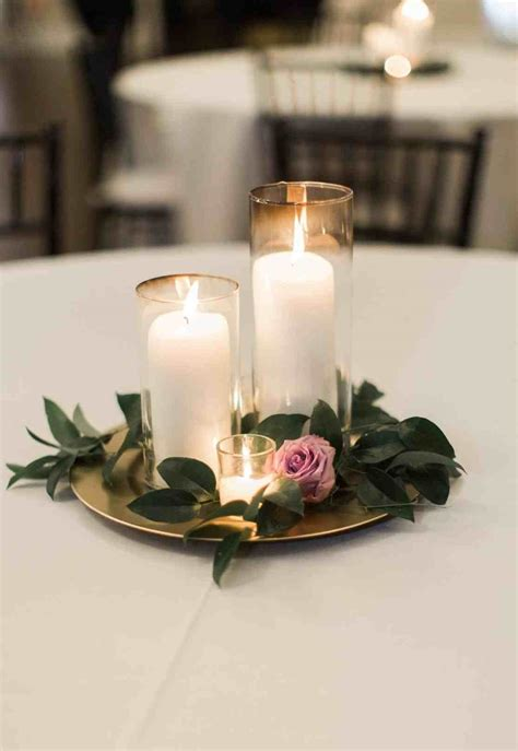 Candle Vase Centerpiece Ideas by Wedding Centerpiece Ideas With Candles Siudy Net