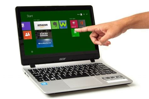 Laptop Acer Kecil acer aspire v3 111p notebook kecil dan gaya dengan layar
