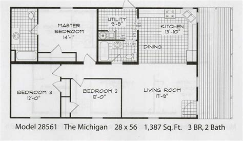 wilson manufactured homes single wide floor plans