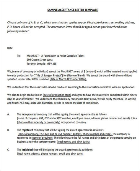 Offer Letter Signed 34 Offer Letter Formats Free Premium Templates