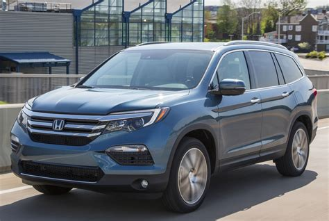crossover honda 2016 honda updates pilot crossover for 2016 bringing new