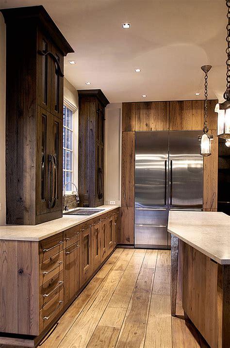 rustic modern kitchen modern rustic kitchen cabinetry2 kitchentoday