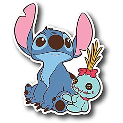 Stiker Lilo And Stitch Sticker Laptop Stiker Cutting lilo and stitch car decal satu sticker
