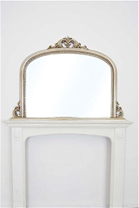 shabby chic large mirror 4ft2 x 3ft 126cm x 91cm large shabby chic ornate silver overmantle wall mirror