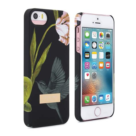 Iphone 5 5s Ted Baker P5tb 25 ted baker aw15 soft feel shell for apple iphone 5