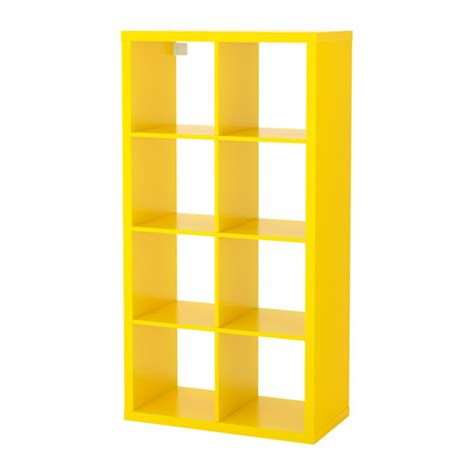 Yellow Bookcase Ikea kallax shelf unit yellow ikea