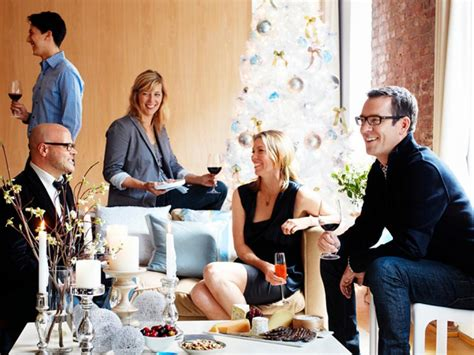 cocktail party at home ted allen s holiday happy hour recipes food network