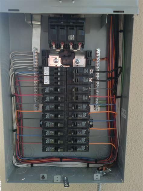 diy problem   find  circuit panel wiring kilowatt