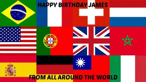 all around the world 1854379763 happy birthday james from all around the world on vimeo