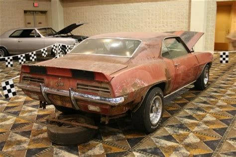 rare camaro found in basement barn find muscle car collector car classic car