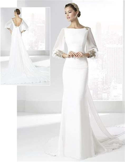 Manu Dress By Dressbyairin Dba vestidos de novia con escote pico y falda l 237 nea quot a quot de