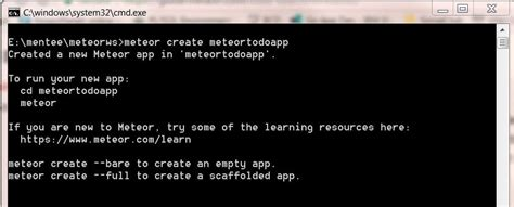 meteor mobile meteor tutorial for web and mobile app development