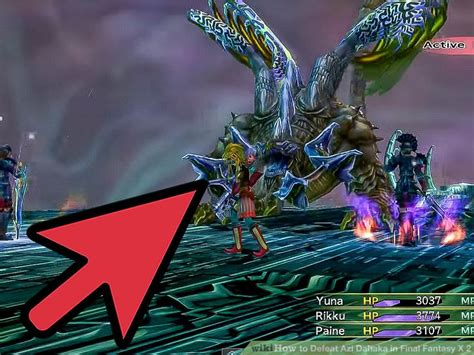 where to get light curtain ffx how to defeat azi dahaka in final fantasy x 2 7 steps