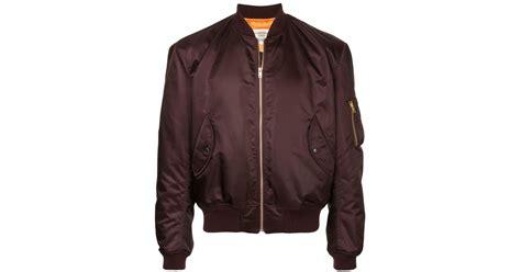 Kent Jaket Parka Kent Reglan Brown lyst kent curwen bomber jacket in brown for
