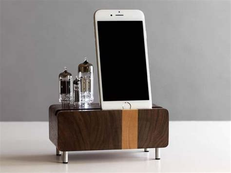 smartphone charging station the handmade smartphone charging station with triple
