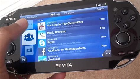 ps vita apps youtube app for ps vita no more downloading youtube
