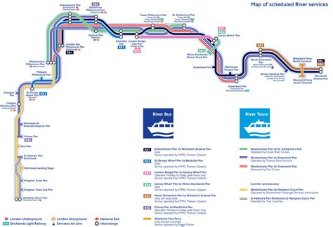thames clipper rb2 map of london river bus stations lines