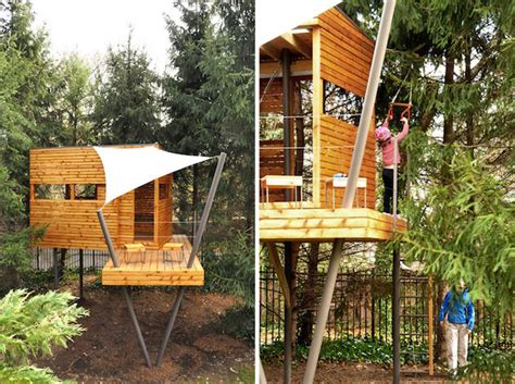 kids tree houses cool treehouses for kids