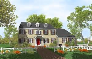 House Plans For One Story Homes Gallery For Gt Colonial House Plans