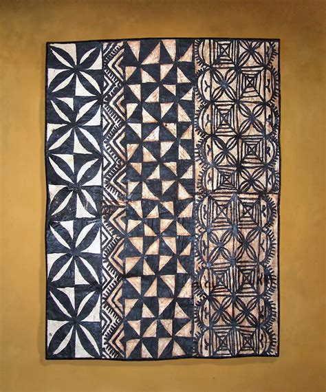 traditional tongan tapa cloth this ngatu is approx 40