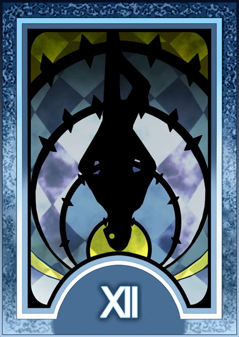 persona 4 card penalty persona 3 4 tarot card deck hr hanged man arcana by