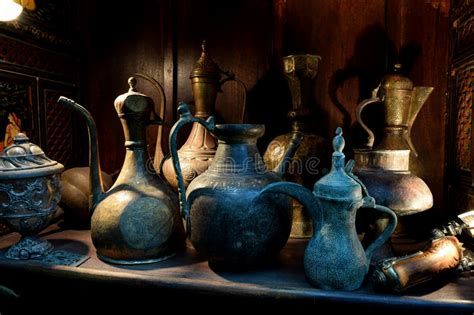 Antique Household Items Stock Photo   Image: 43406566
