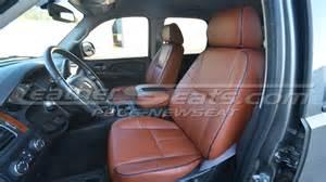 leathercraft chevy silverado seatskinz custom fit leather