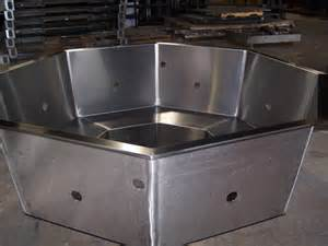 Bathtub Jets Custom Fabrication Of A Stainless Steel Spa Frame For The