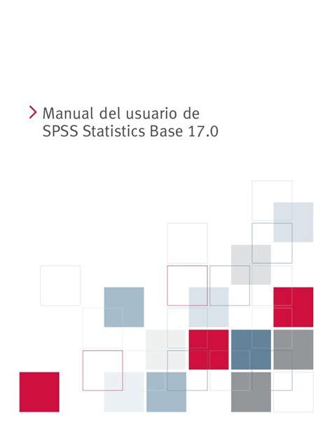 manual de spss manual spss 17 0