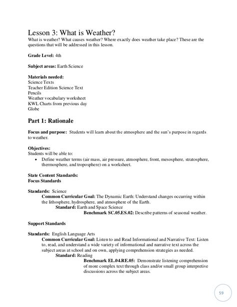 Resume 4th Grade by 4th Grade Resume Resume