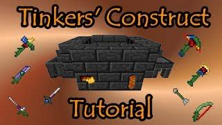 construct 2 tutorial deutsch beheading cleaver minecraft mod tinkers construct tutorial