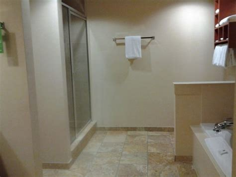 Stand Up Shower Tub Bathroom In King Suite W Kitchen With Stand Up Shower And