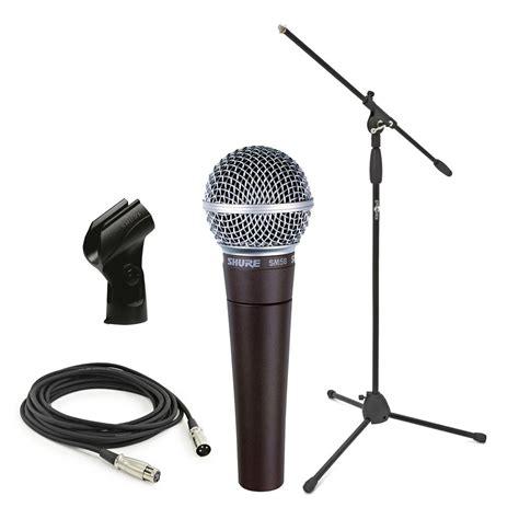 Mic Microphone Kabel Shure Sm 58 shure sm58 dynamick 253 vok 225 ln 237 mikrofon se stojanem a kabel