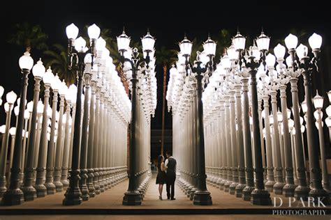 Engagement Photo Lacma On Pinterest Engagement Session Los Angeles Lights