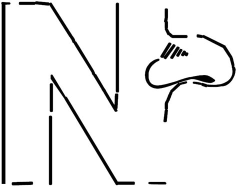 free coloring page letter n free letter n nest coloring pages