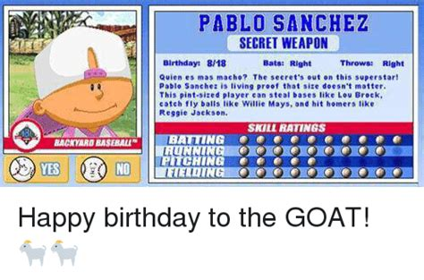 pablo sanchez backyard sports search april memes on me me