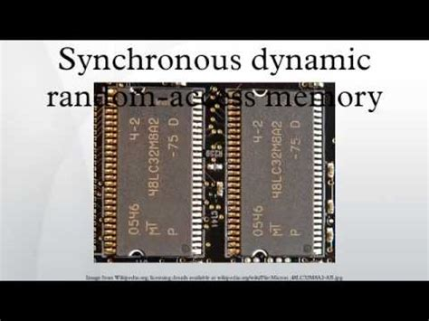 synchronous dynamic ram synchronous dynamic random access memory mashpedia free