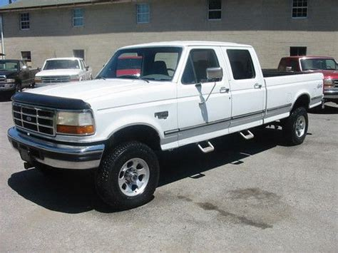 buy car manuals 2010 ford f350 transmission control buy used 95 ford f350 xlt 4wd crew 7 3 powerstroke diesel rare 5 speed california mint in