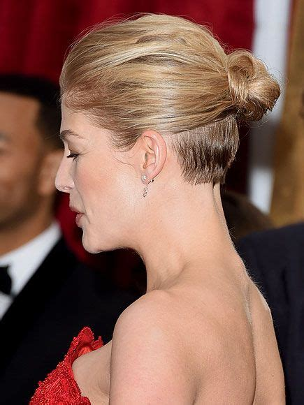 back glimpses of short haircuts 225 best images about 08celebrity rosamund pike羅莎蒙 183 派克 on