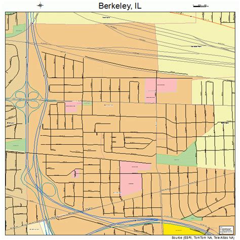 berkeley map berkeley illinois map 1705404