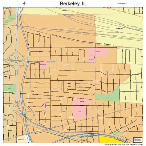 map berkeley berkeley illinois map 1705404