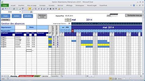 Calendrier Journalier Excel Planning Vacances Sur Excel Infogestion Les