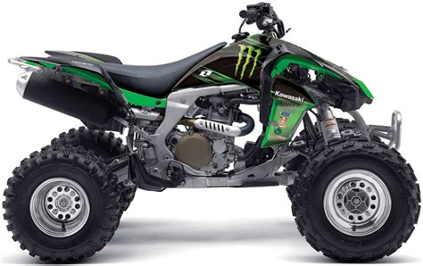 Kawasaki Atv by Sheer Brute With The Kawasaki Atv