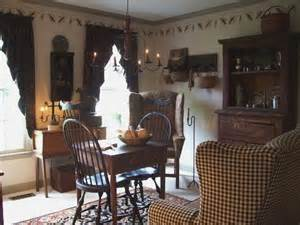 Primitive Curtains For Living Room Primitive Stitcher Primitive Style Primitives Primitive Living Room And