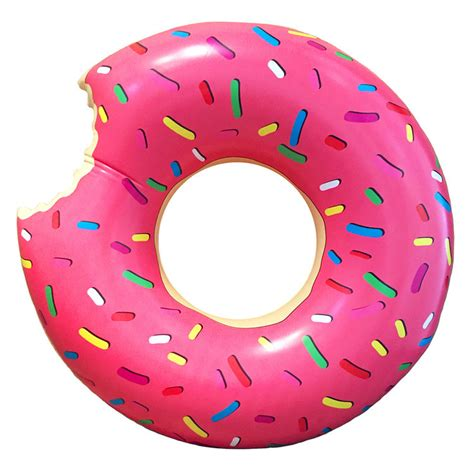 Paper Holder by Leo Amp Bella Pumpt Inflatable Pool Ring Giant Donut Pink