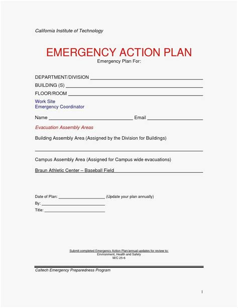 New Free Printable Fire Escape Plan Template Kinoweb Org Evacuation Plan Template For Home