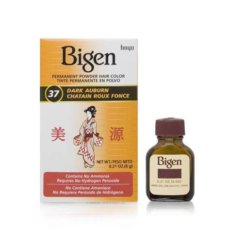 bigen 174 permanent powder hair bigen permanent powder hair color auburn 37