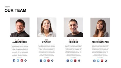 Our Team Powerpoint And Keynote Template Slidebazaar Team Meeting Presentation Template
